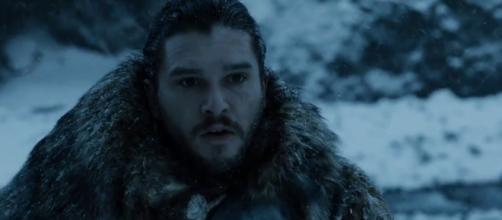 Jon Snow no sexto episódio da sétima temporada de ''Game of Thrones''