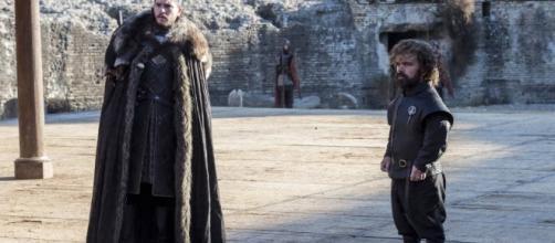 Jon y Tyrion intentan convencer a Cersei para que se una a la guerra contra el Rey de la Noche