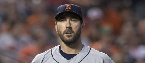 Justin Verlander notched his fourth win in his last five starts -- Keith Allison via WikiCommons