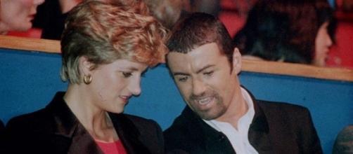 La principessa Diana e George Michael