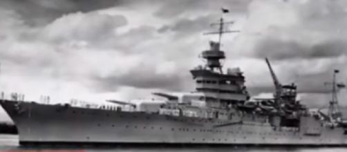 Lost USS Indianapolis made famous in JAWS found Saturday in the Philippine Sea after 72 years [Image via YouTube: news672]
