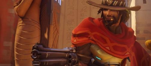 "McCree in ""Overwatch"" is a deadly DPS character with some smooth moves to offer (via YouTube/PlayOverwatch)"
