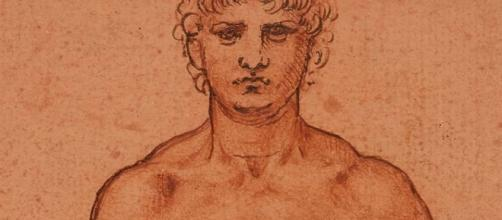 """Nude Man"" (detail) by Leonardo da Vinci FAIR USE theguaridan.com Creative Commons"