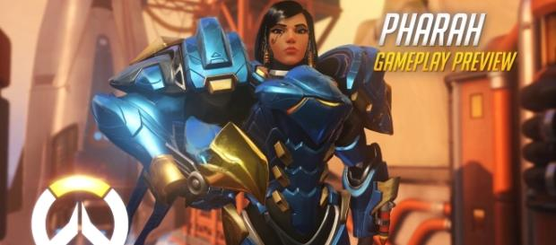 """In """"Overwatch,"""" Pharah is among the heroes with great firepower (via YouTube/PlayOverwatch)"""