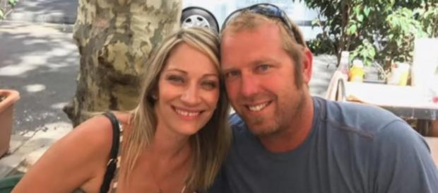 Jared Tucker and his wife Heidi Nunes-Tucker in their last photo together before he got killed in the terror attack - YouTube/ABC News
