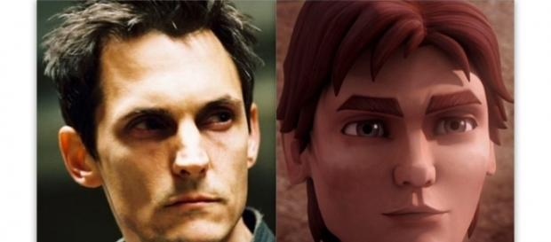 Jason Spisak as Lux Bonteri in 'Star Wars: The Clone Wars' via Wookiepedia, a free use site