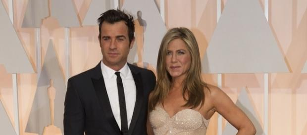 Jennifer Aniston and Justin Theroux photographed in 2015 during the Oscars - Flickr/Disney | ABC Television Group