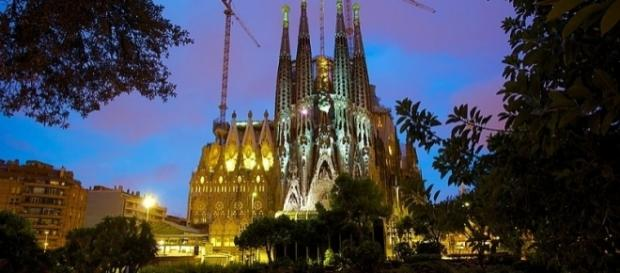 Jihadist cell's first target is thought to have been the Sagrada Familia temple [Image via Wikimedia by Jiuguang Wang/CC BY-SA 2.0]