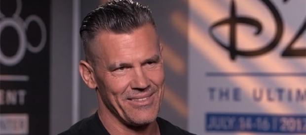 "Josh Brolin is set to appear in ""Deadpool 2"" and ""Avengers: Infinity War"" next year. (YouTube/Good Morning America)"