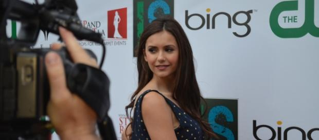 Nina Dobrev photographed in 2012 - Flickr/Red Carpet Report on Mingle Media TV