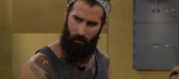 "Paul Abrahamian is running the ""Big Brother"" house. [Photo via CBS/live feeds screen cap]"