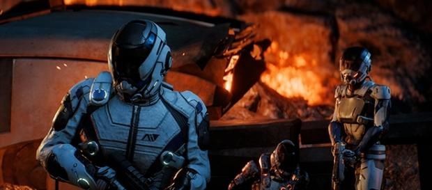 """Players shouldn't expect any more updates from BioWare for the single-player mode of """"Mass Effect: Andromeda."""" [Image via YouTube/BioWare]"""