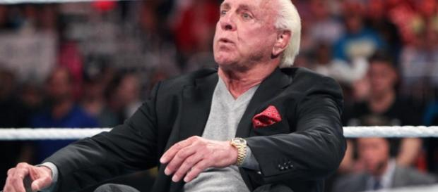 WWE news: Nature Boy Ric Flair improving after major health scare- Photo: WWE television