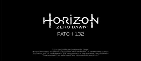 "Patch 1.32 for ""Horizon: Zero Dawn"" released - YouTube/PlayStation"