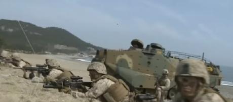 S. Korea-U.S. to kick off 10-day joint military drill starting Monday [Image via YouTube: ARIRANG NEWS]