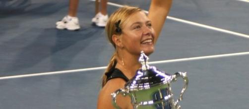 2006 US Open Champion, Maria Sharapova (via WikiCommons - by Boss Tweed)
