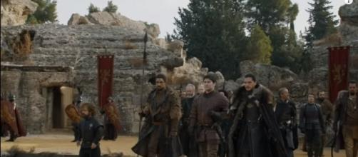 "A parlay and a fight happens in the finale of ""Game of Thrones"" Season 7. (Photo:YouTube/GameofThrones)"