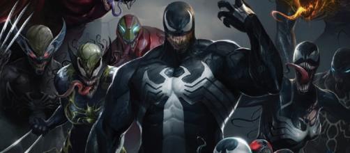 Imagenes De Venom Para Dibujar A Color