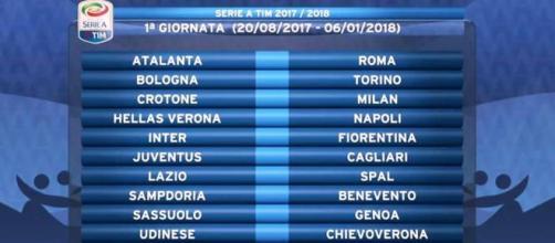Calcio, campionato di Serie A: ecco il calendario. Alla Juventus ... - velvetnews.it
