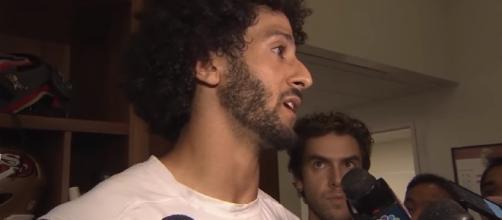 Colin Kaepernick explains why he won't stand during National Anthem - Image -KTVU | YouTube