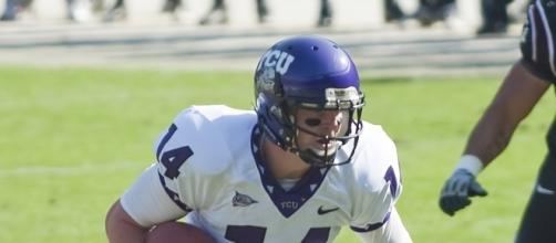 Dalton has been a giver ever since he was in college at TCU. Dirk Hansen via Wikimedia Commons