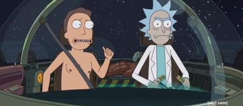 I want to know how Rick made Jerry a pair of pants. Youtube/Adult Swim Channel