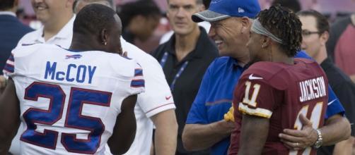 LeSean McCoy, Rex Ryan, DeSean Jackson | Bills at Redskins 8… | Flickr - flickr.com