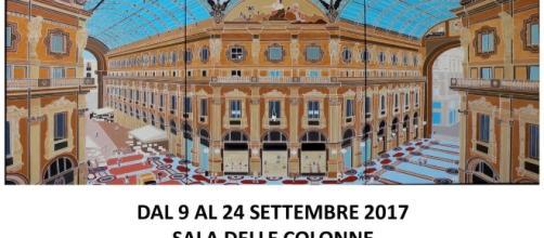 Locandina mostra di Sandro Borroni