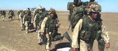 Marines in Afghanistan (United States Marine Corps wikimedia)