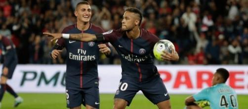 Neymar, après son premier but face au TFC.