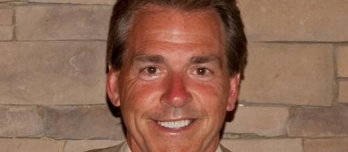 Nick Saban is less happy about the upcoming eclipse. Beasley Allen Law Firm via Wikimedia Commons