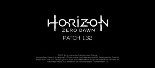 """Patch 1.32 for """"Horizon: Zero Dawn"""" released - YouTube/PlayStation"""