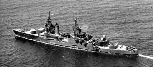 Paul Allen and crew discovered the USS Indianapolis wreckage after 72 years beneath Philippine waters. (Flickr/ Robert Pavey Collection)