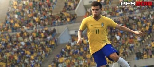 PES 18 investe muito no Brasil