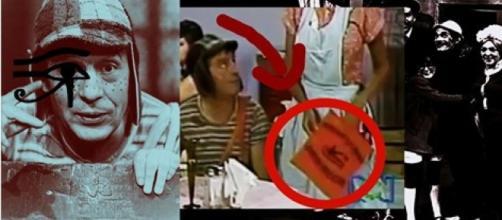 Símbolos de ocultismo no seriado Chaves