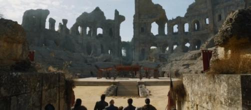 The setting of the grand meeting between the key players of Game of Thrones. Credits: Youtube/GameofThrones