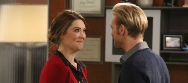 Briga Heelan leads the comedy 'Great News' on NBC. ~ Facebook/NBCGreatNews