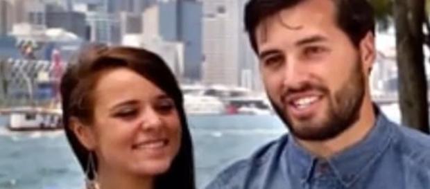 'Counting On' couple Jinger Duggar and Jeremy Vuolo / Photo via Channel News , YouTube
