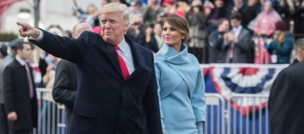 Donald Trump and Melania Trump- (Wikimedia Commons/U.S. Army photo by Pvt. Gabriel Silva)