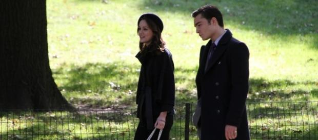 Ed Westwick and Leighton Meester / Photo via Rasmus Lerdorf, Flickr