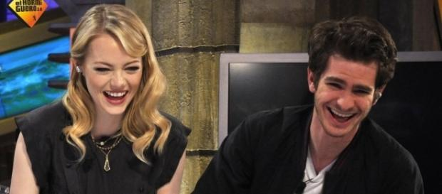 Emma Stone, Andrew Garfield / Photo via El Hormiguero, Flickr