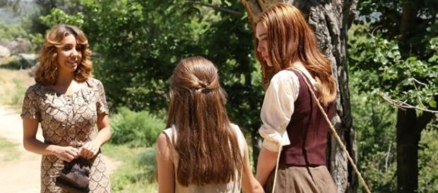 Il Segreto: Emilia incontra Julieta e Ana