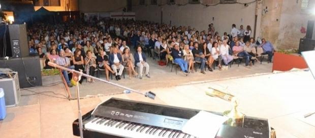 Immagine scattata al Teatro d'estate nel 2015 (foto Costarella)