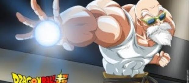 "Master Roshi in ""Dragon Ball Super"" - Image via YouTube/Top Anime"