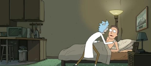 Screenshot from Episode 5 Rick and Morty by Adult Swim!