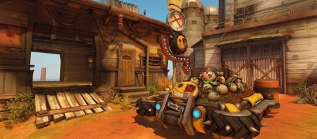 """Junkertown is the newest map heading to the """"Overwatch"""" PTR soon. (Blizzard)"""