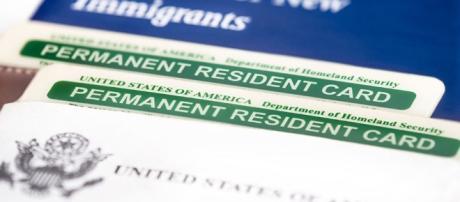 Tarjeta de residencia permanente en EEUU