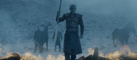 The Night King in 'Beyond the Wall' (Source: GameofThrones via YouTube)