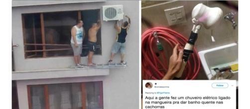 Alguns brasileiros tem uma criatividade acima da média ( Foto - Reprodução )