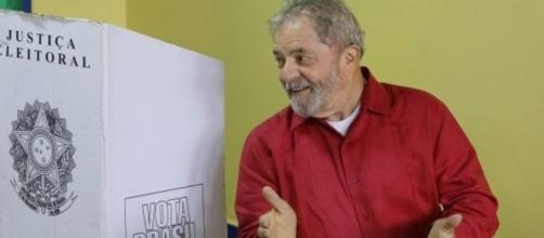 Ex-presidente Luiz Inácio Lula da Silva nas eleições de 2014